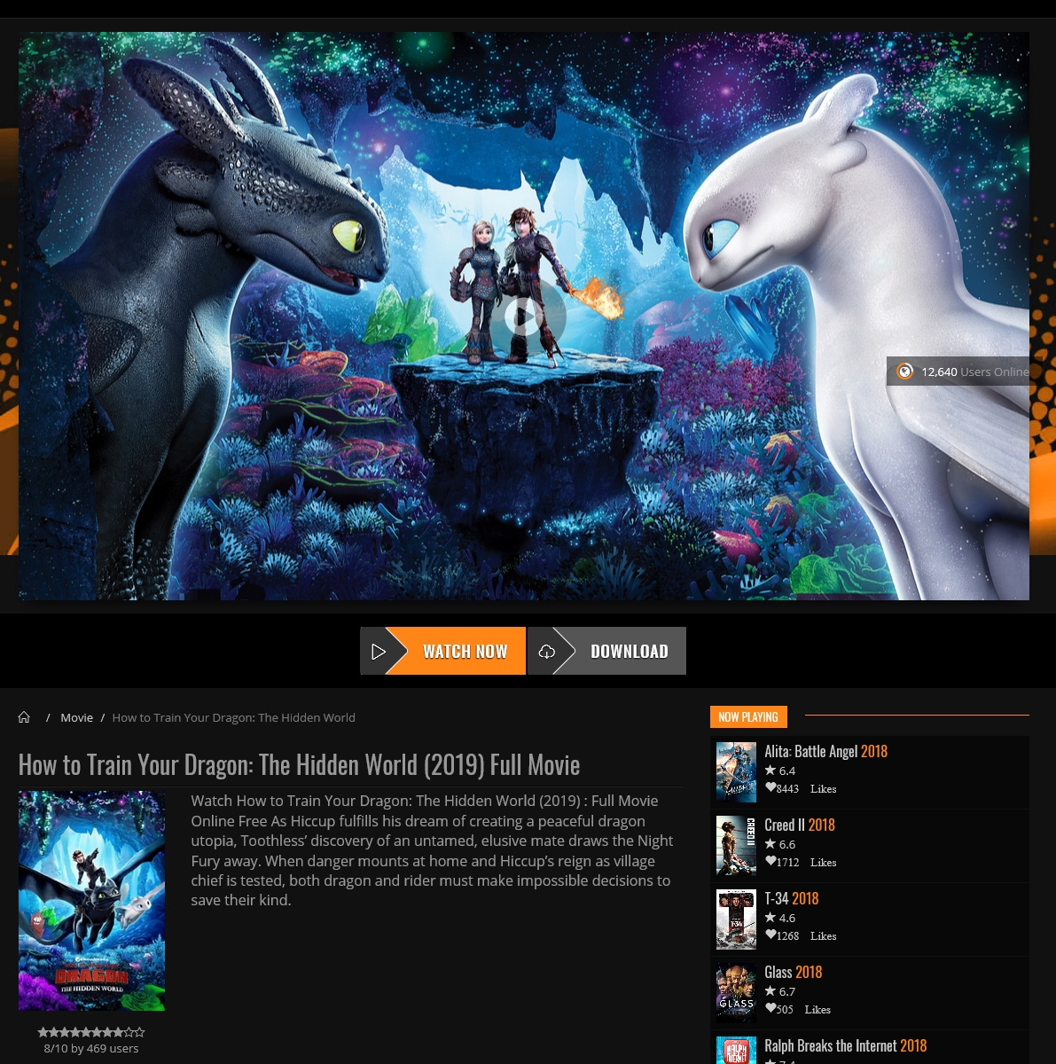 123movies Watch How To Train Your Dragon The Hidden World Full Movie 2019 High Quality Download Text Images Music Video Glogster Edu Interactive Multimedia Posters